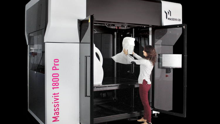 Massivit 1800 Pro to demonstrate new realms in dynamic creativity, cost-effectiveness, and convenience for large format 3D printing.