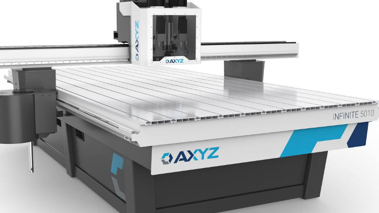 AXYZ Infinite to set new benchmark for multi-purpose CNC routers.