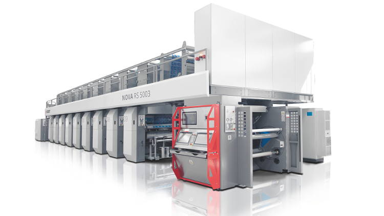 BOBST launches the NOVA RS 5003, a brand new gravure press delivering cost-effective and sustainable performance in flexible packaging production.