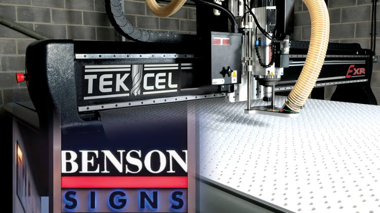 Bensons Signs is well-equipped and has been an opinion leader and innovator since its founding in 1969.