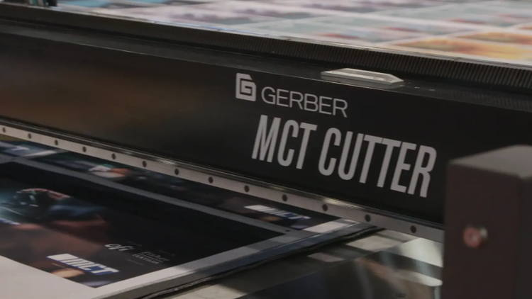 Gerber Technology Expands its MCT Digital Cutting System into European Market at FESPA.