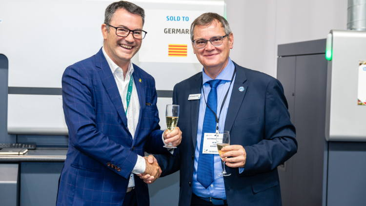 Germark acquires an HP Indigo 6900 at Labelexpo 2019 to improve flexibility, productivity and profitability.