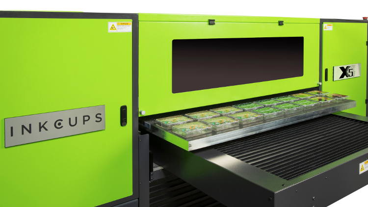 Inkcups releases field-proven X5 UV flatbed digital printer to European market.