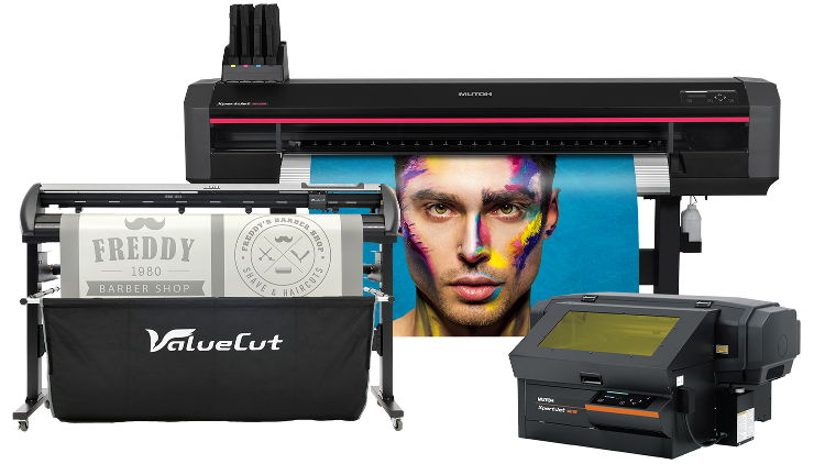Mutoh EMEA all set to inspire Fespa visitors with profit making new digital print opportunities for object personalisation, sign & display and print to cut.
