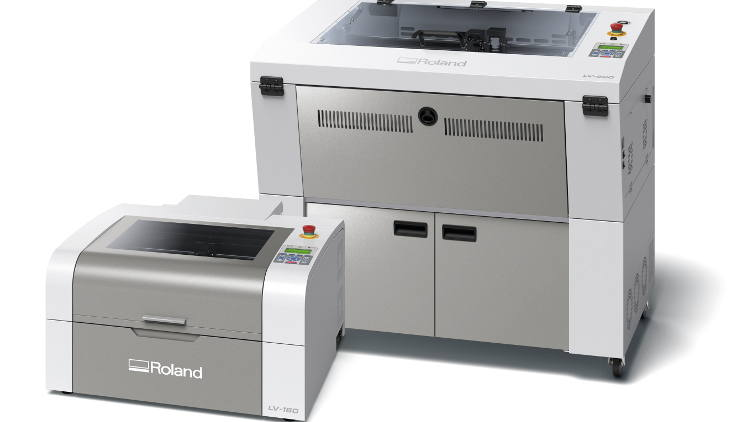 Roland DG Announces New LV Series Laser Engravers  for Profitable New Business Opportunities.