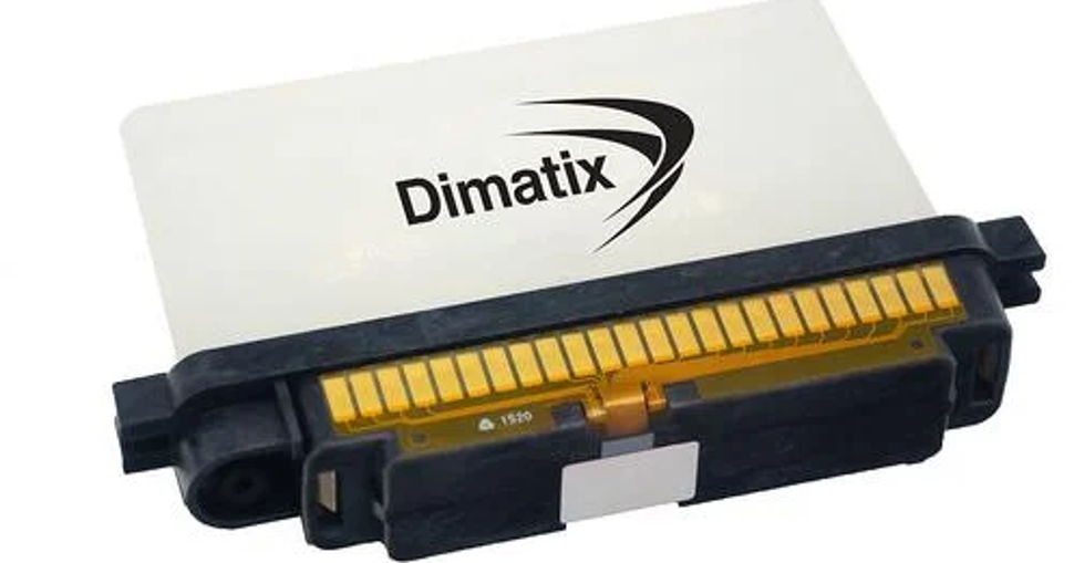 FUJIFILM Dimatix launches new Samba Cartridge intended for use with the Dimatix materials printer.