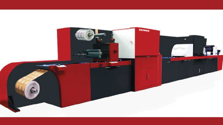 The Xeikon FEU provides complete digital finishing and embellishment capabilities for UV spot varnish, tactile varnish, foiling, 3D textures and holograms across a wide range of substrates.