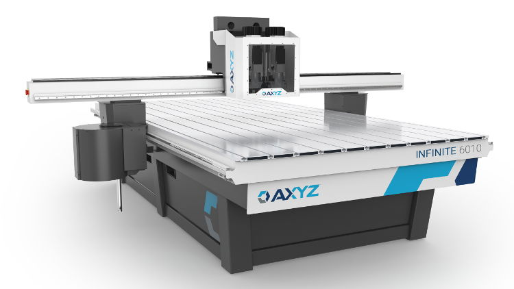 AXYZ router provides an infinite solution for sign makers.