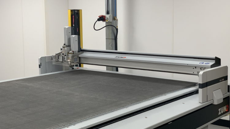 Design Packaging invest in a new Zund G3 120 mm High Beam cutter.