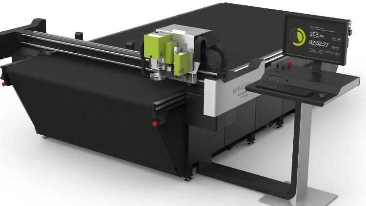 Sign & Corrugated Converters Avoid Costly Future Reinvestment With Launch Of Esko Kongsberg C Edge Upgradable Cutting Table.