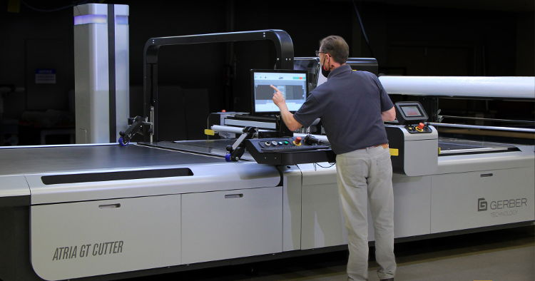 Gerber Technology redefines mass production with launch of The Gerber Atria Digital Cutter.