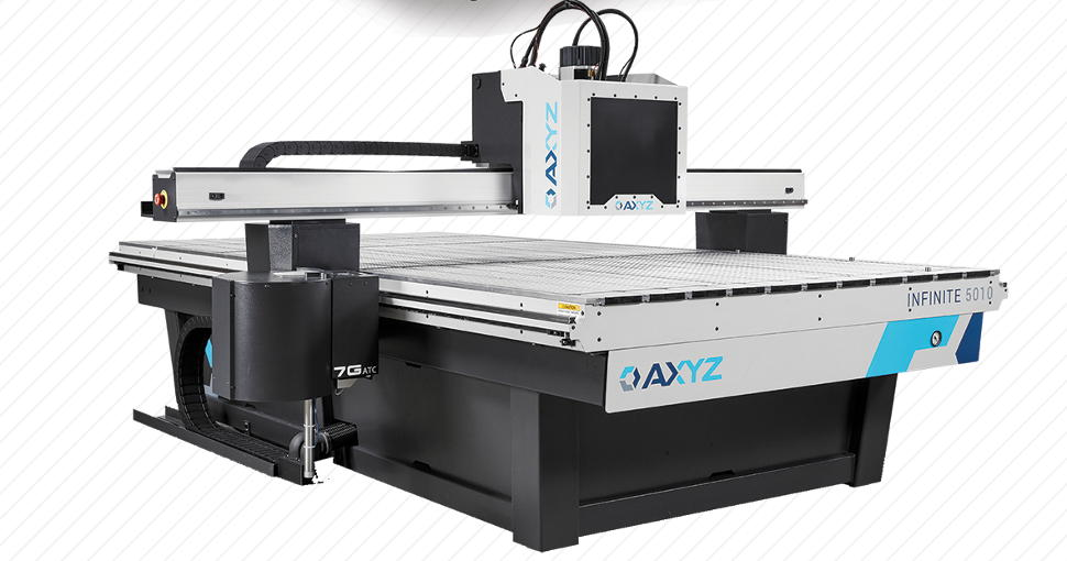 The AXYZ Infinite has been described by AAG as the most versatile and configurable routing/cutting solution currently available.