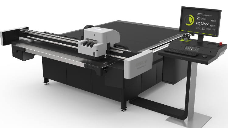 The Kongsberg X22 cutting table will be on show at Esko's booth 438 in Hall 7A.