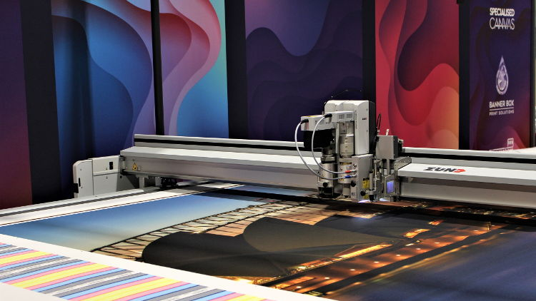 Specialised Canvas invest in their second Zund digital cutter.