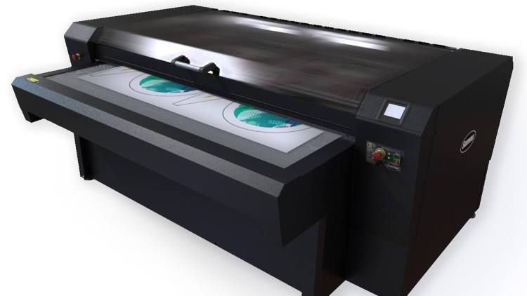 Higher productivity with Summa's advanced laser cutter at ITMA 2019.