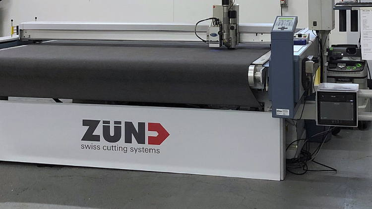 Go Cre8 speeds up finishing processes with game-changing Zünd cutter installation.