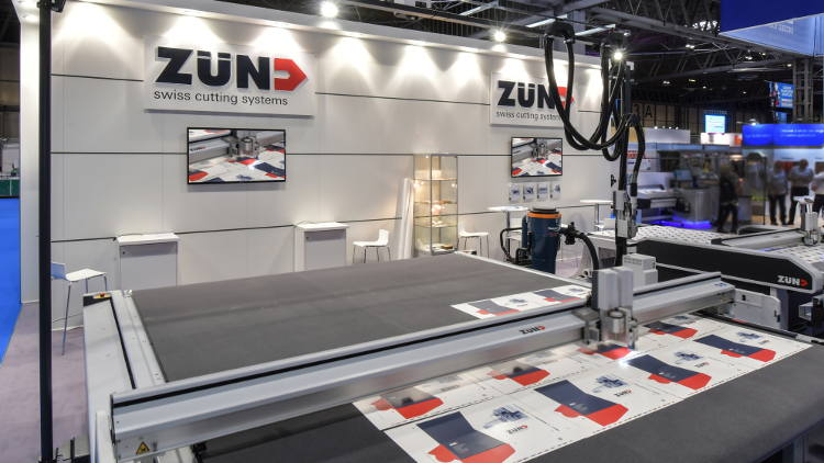 Zünd UK to showcase cutting edge technology at Sign & Digital UK 2019.