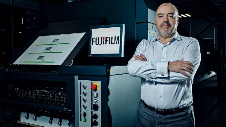 Jet Press 750S investment was the obvious next step for Aries in Fujifilm partnership.