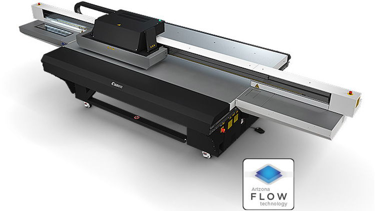 Canon has announced the launch of the new Arizona 2300 series for the large format graphics market.