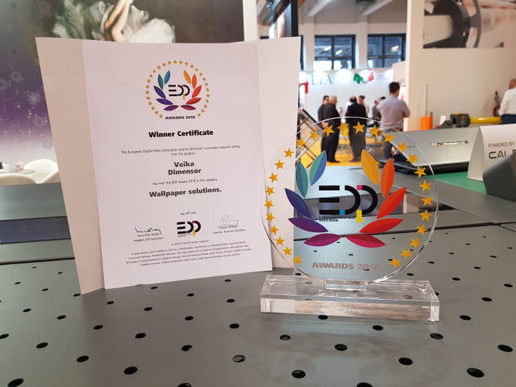 Best Wallpaper Solution 2018 at FESPA