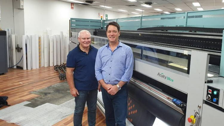 Cactus Imaging, the printing division of outdoor giant oOh!Media, has installed Australia's first Fujifilm Acuity Ultra 5044.