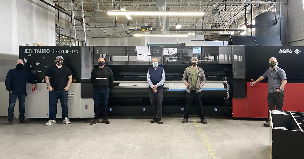 Cameron Advertising installs first Jeti Tauro H3300 UHS in North America.