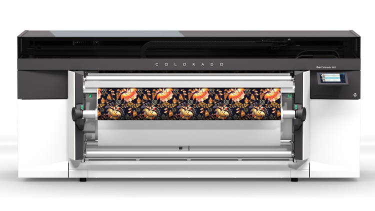 Canon launches new Océ Colorado at FESPA 2019.