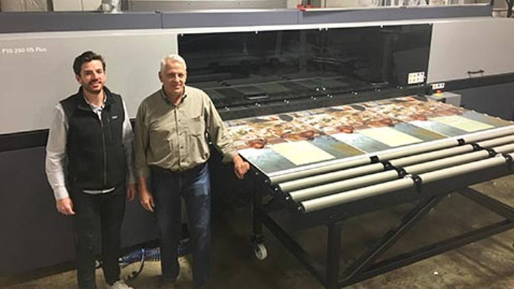 Lake Graphics Label & Sign Company Continues to Offer Leading Edge Production Technology Adding the Durst Rho P10 250 HS Plus.