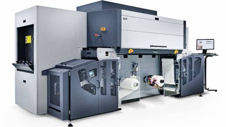 Durst to showcase innovative UV inkjet single pass printing technology at Labelexpo Americas 2018.