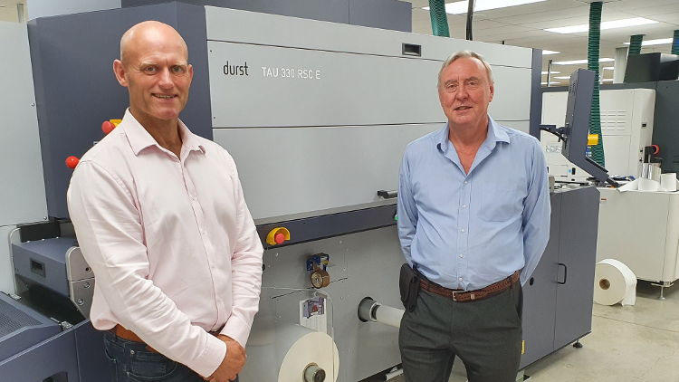 Durst Tau 330 RSC E helps Colorscan take giant step forward in labels.