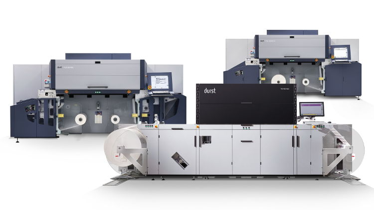 Durst announces 100th Tau RSC platform press installation.