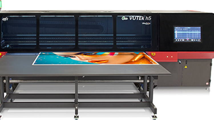 Mack Media gains competitive advantage in growing segments with Canada's first EFI VUTEk h5 printer.