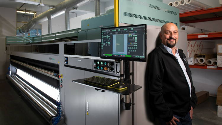 UK creative production business, Echo House, is first company in the world to invest in Fujifilm's new, high-quality, high-productivity, super-wide printer.