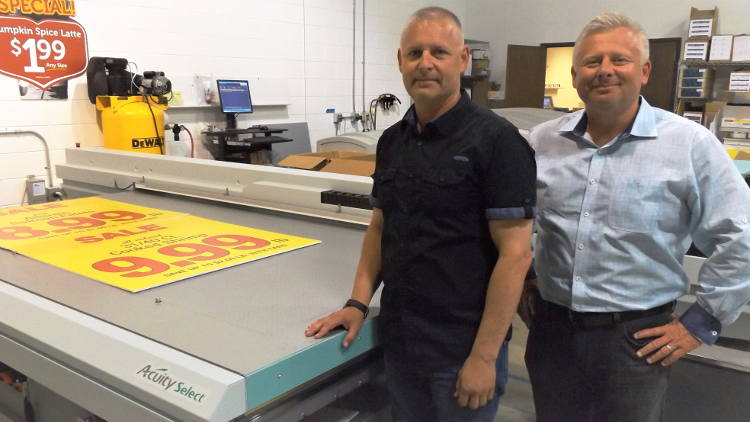 Graphicolor Printing doubles wide format revenue with Fujifilms Acuity Select 26.