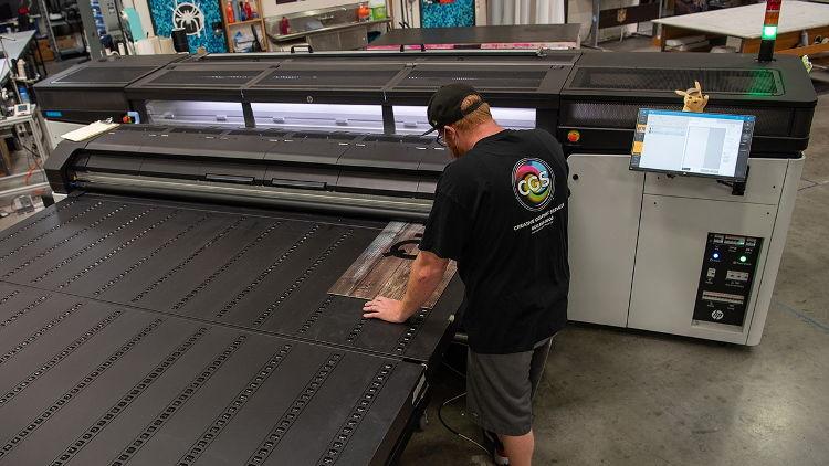 Creative Graphic Services expands capabilities with new HP Latex R-series rigid printing.