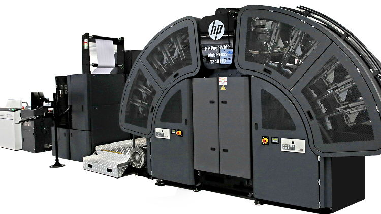 Data One installs three HP PageWide Web T240 HD presses to streamline production.