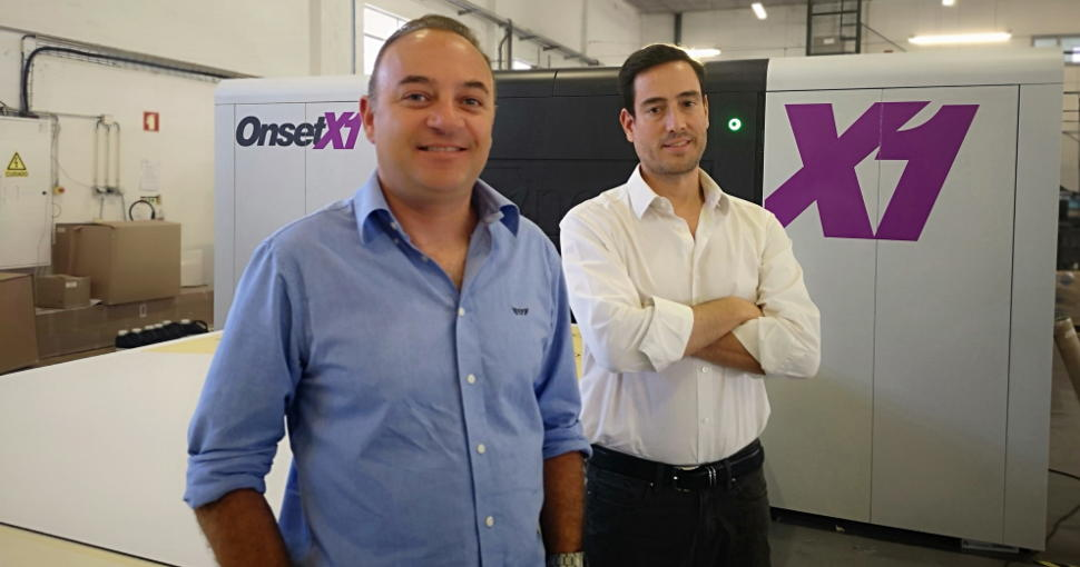 Portuguese printer Imacx reaping rewards of investment in Onset X1 from Fujifilm.