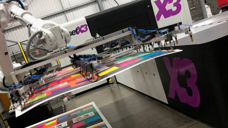 Investment in equipment and talent at Pureprint Groups large format division.