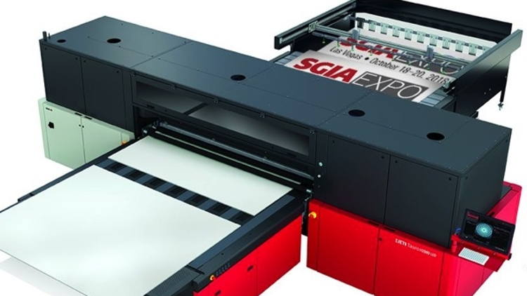 Jeti Tauro H3300 LED takes home Most Progressive Printing Process, Wide-Format.