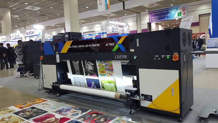 InkTec kick off 2019 with three new JETRIX printers.