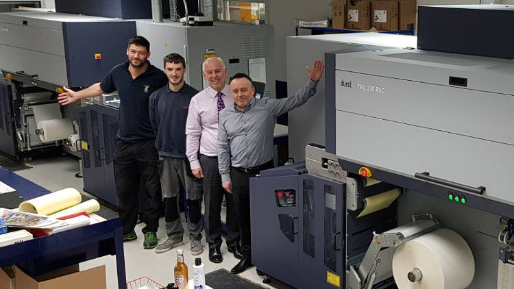 Labmak buys second Tau 330 RSC after brands demand more Durst quality.