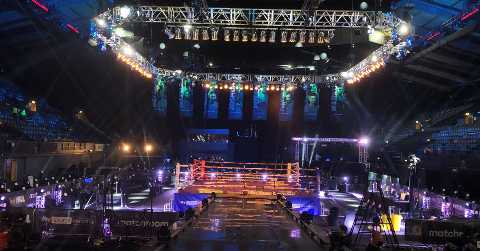 JETRIX LXiR320 prints ringside graphics for Anthony Joshua fight and other leading events.
