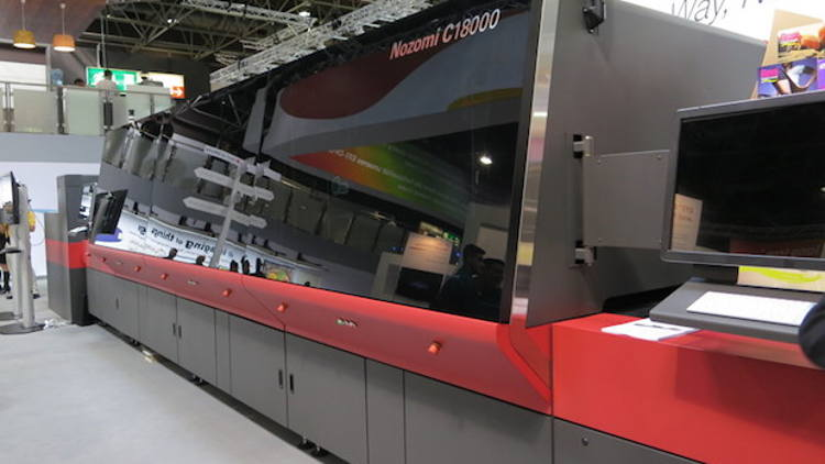 Mid America Display becomes first company to operate two EFI Nozomi Digital Corrugated Printers at a single facility.