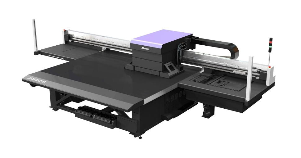 Mimaki introduce new JFX600-2513 & JFX550-2513 UV-LED flatbeds.