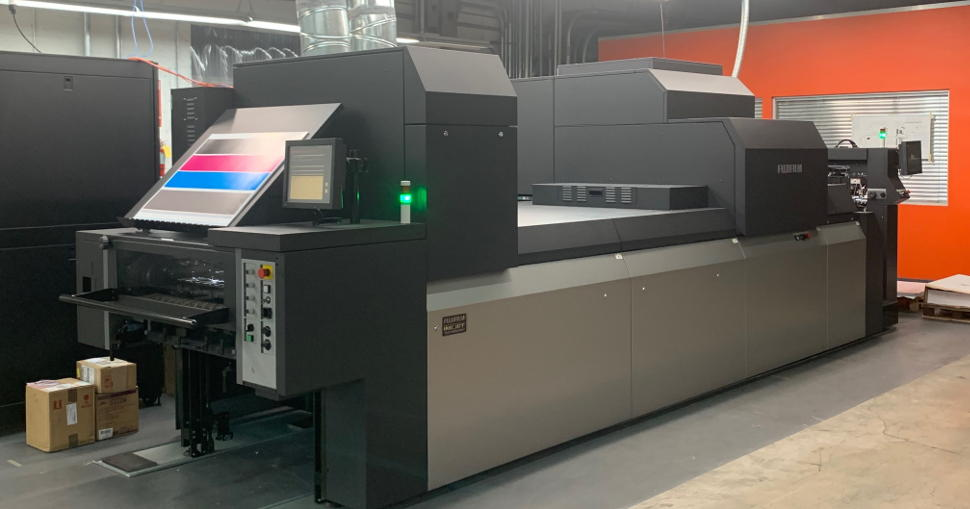 NuPress Maximizes capabilities while increasing efficiencies with installation of FUJIFILM J Press 750 S.