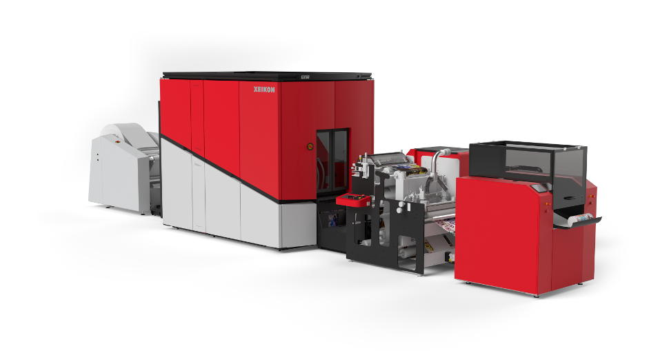 The Xeikon Wall Deco Suite is an all-in-one streamlined solution including inline finishing.