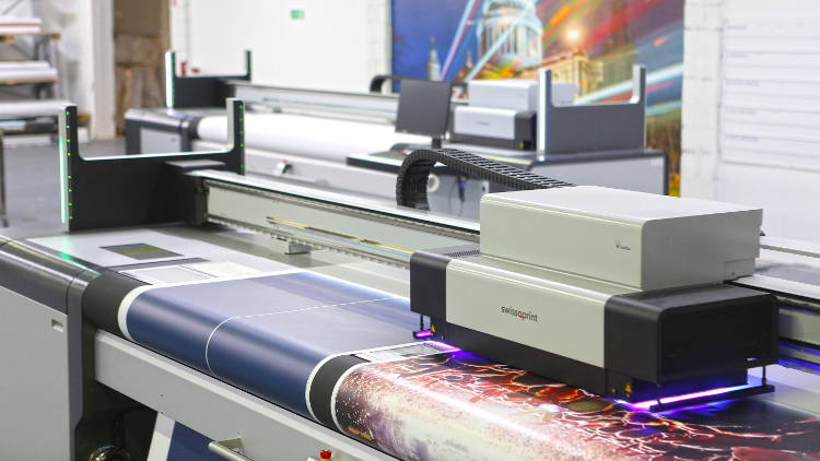 Pixcolor purchases two swissQprint roll to roll printers.