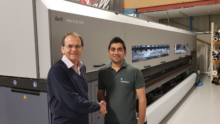 UK first for Icon Graphics with Durst Rho 512R LED investment.