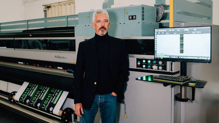 The superwide format machine was installed at SISMAITALIA in August 2019, with enhanced productivity, quality and the ability to print on a wider range of substrates the key reasons for the investment.