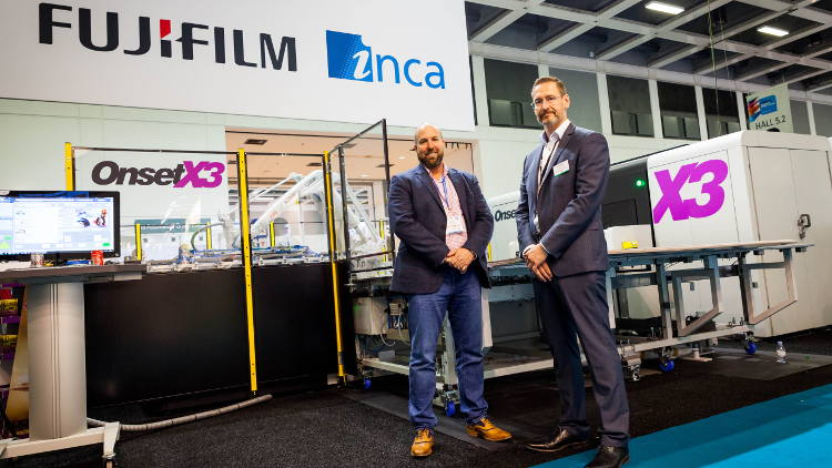 The Simpson Group becomes the latest company to invest in Inca Digital's ultra-high productivity Onset X3 with full automation.